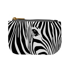 Animal Cute Pattern Art Zebra Mini Coin Purses
