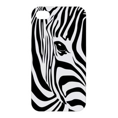 Animal Cute Pattern Art Zebra Apple Iphone 4/4s Hardshell Case
