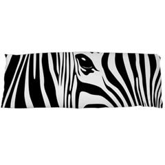 Animal Cute Pattern Art Zebra Body Pillow Case Dakimakura (two Sides)