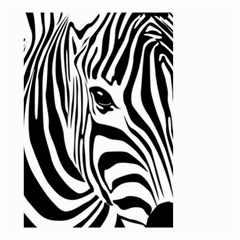 Animal Cute Pattern Art Zebra Small Garden Flag (two Sides)
