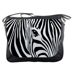 Animal Cute Pattern Art Zebra Messenger Bags