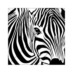 Animal Cute Pattern Art Zebra Acrylic Tangram Puzzle (6  X 6 )