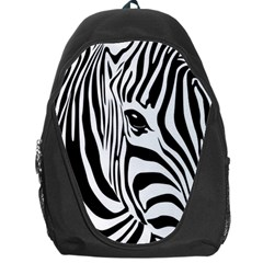 Animal Cute Pattern Art Zebra Backpack Bag