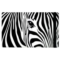 Animal Cute Pattern Art Zebra Apple Ipad 2 Flip Case