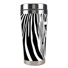 Animal Cute Pattern Art Zebra Stainless Steel Travel Tumblers