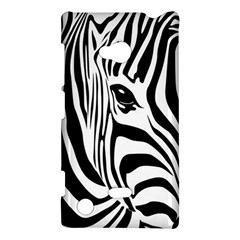 Animal Cute Pattern Art Zebra Nokia Lumia 720