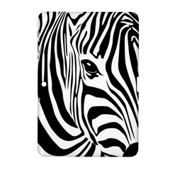 Animal Cute Pattern Art Zebra Samsung Galaxy Tab 2 (10 1 ) P5100 Hardshell Case