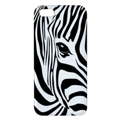 Animal Cute Pattern Art Zebra Iphone 5s/ Se Premium Hardshell Case