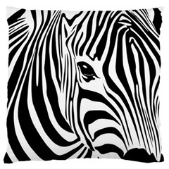 Animal Cute Pattern Art Zebra Standard Flano Cushion Case (two Sides)