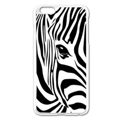 Animal Cute Pattern Art Zebra Apple Iphone 6 Plus/6s Plus Enamel White Case