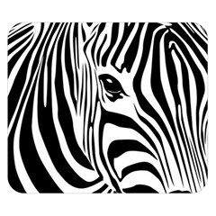 Animal Cute Pattern Art Zebra Double Sided Flano Blanket (small)