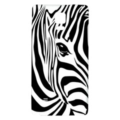 Animal Cute Pattern Art Zebra Galaxy Note 4 Back Case