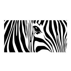 Animal Cute Pattern Art Zebra Satin Wrap