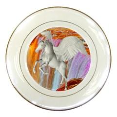 Pegasus Porcelain Plates