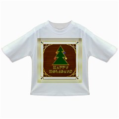 Art Deco Holiday Card Infant/Toddler T-Shirts