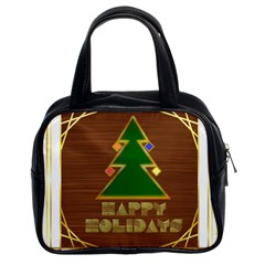 Art Deco Holiday Card Classic Handbags (2 Sides)