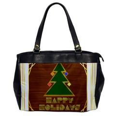 Art Deco Holiday Card Office Handbags