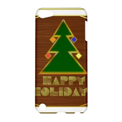Art Deco Holiday Card Apple Ipod Touch 5 Hardshell Case