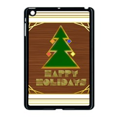 Art Deco Holiday Card Apple Ipad Mini Case (black)