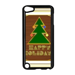 Art Deco Holiday Card Apple Ipod Touch 5 Case (black)