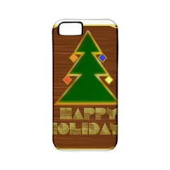 Art Deco Holiday Card Apple Iphone 5 Classic Hardshell Case (pc+silicone)