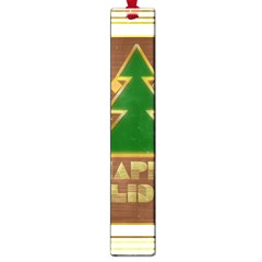 Art Deco Holiday Card Large Book Marks