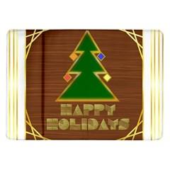 Art Deco Holiday Card Samsung Galaxy Tab 10 1  P7500 Flip Case