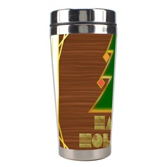 Art Deco Holiday Card Stainless Steel Travel Tumblers