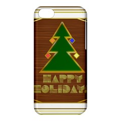 Art Deco Holiday Card Apple Iphone 5c Hardshell Case