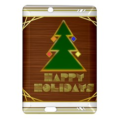 Art Deco Holiday Card Amazon Kindle Fire Hd (2013) Hardshell Case
