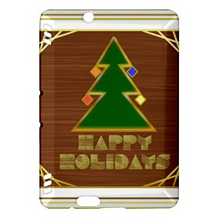 Art Deco Holiday Card Kindle Fire Hdx Hardshell Case