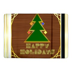 Art Deco Holiday Card Samsung Galaxy Tab Pro 10 1  Flip Case