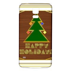 Art Deco Holiday Card Samsung Galaxy S5 Back Case (white)