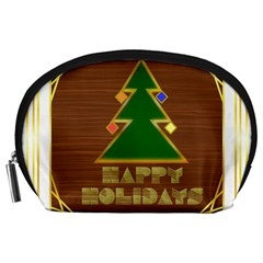 Art Deco Holiday Card Accessory Pouches (large)