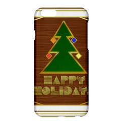 Art Deco Holiday Card Apple Iphone 6 Plus/6s Plus Hardshell Case