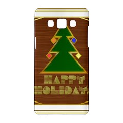 Art Deco Holiday Card Samsung Galaxy A5 Hardshell Case