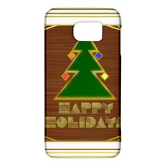 Art Deco Holiday Card Galaxy S6