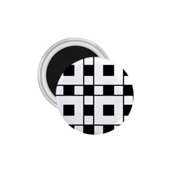 Black And White Pattern 1 75  Magnets