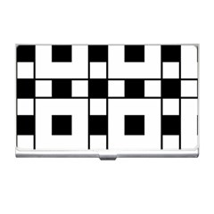 Black And White Pattern Business Card Holders