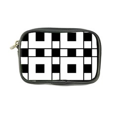 Black And White Pattern Coin Purse