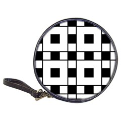 Black And White Pattern Classic 20 Cd Wallets