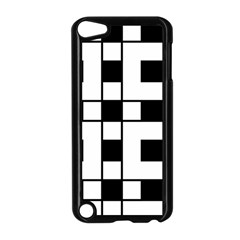 Black And White Pattern Apple Ipod Touch 5 Case (black)