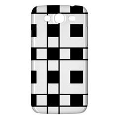 Black And White Pattern Samsung Galaxy Mega 5 8 I9152 Hardshell Case