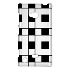Black And White Pattern Nokia Lumia 720