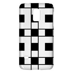 Black And White Pattern Galaxy S5 Mini