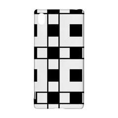Black And White Pattern Sony Xperia Z3+