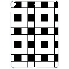 Black And White Pattern Apple Ipad Pro 12 9   Hardshell Case