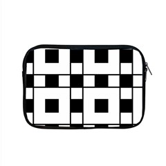 Black And White Pattern Apple Macbook Pro 15  Zipper Case