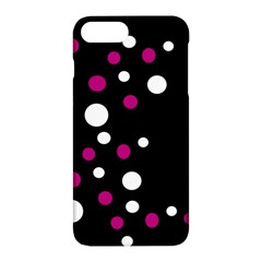 Pink And White Dots Apple Iphone 7 Plus Hardshell Case