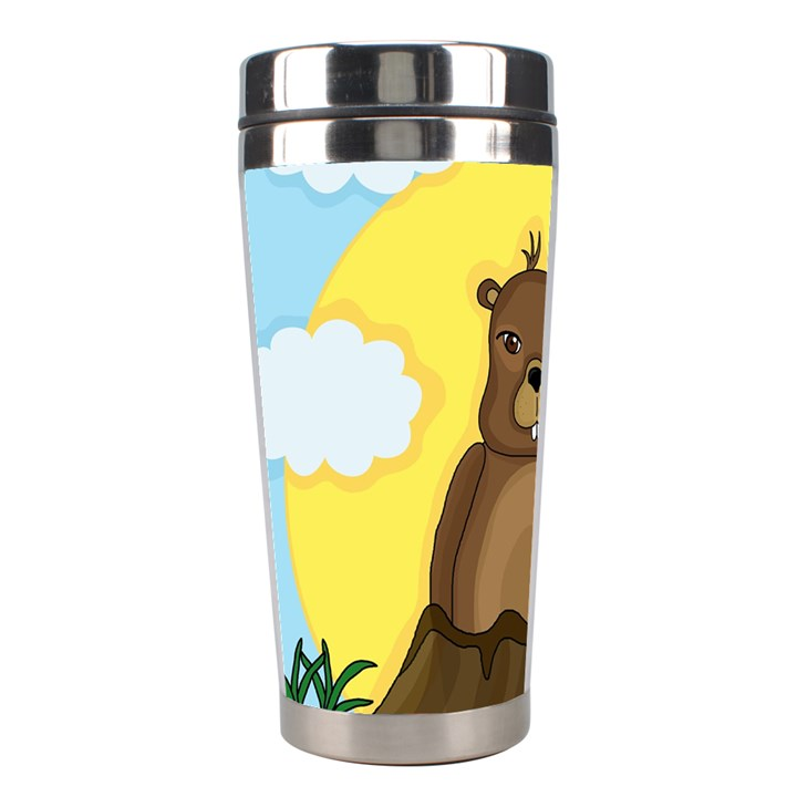Groundhog day  Stainless Steel Travel Tumblers